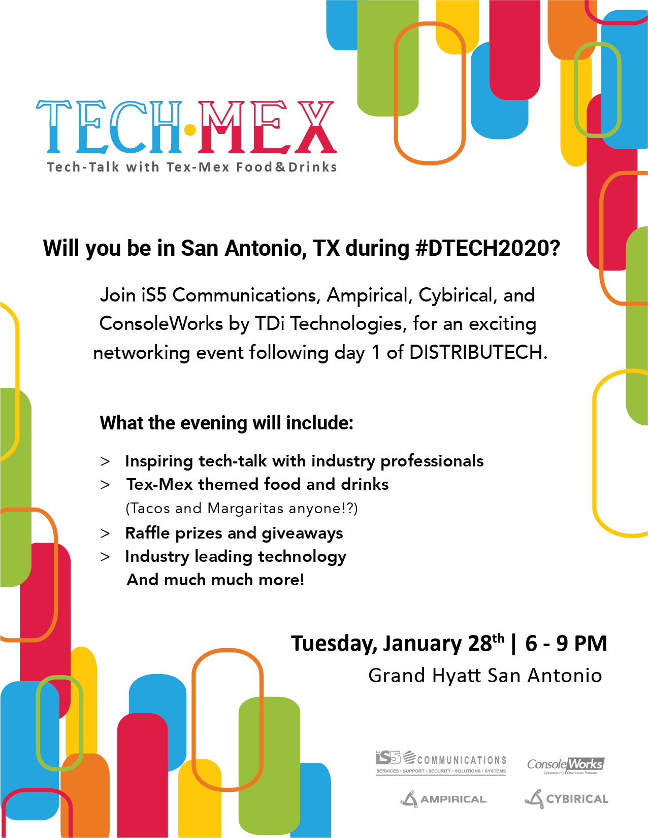 You're Invited! Tech-Mex Networking Event at DTECH2020